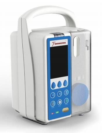 Feeding Syringe Infusion Pump SH-700 2.8 Inch Color TFT Double CPU System Spanish Software